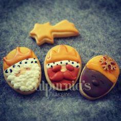 Reyes Magos galletas decoradas
