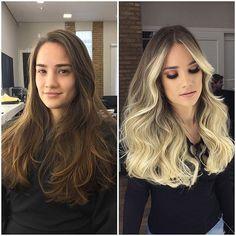 Hair Styles – Hair Care Tips and Tricks Braided Mohawk Hairstyles, Pretty Hairstyles, Balage Hair, Blonde Hair Looks, Platinum Blonde Hair, Hair Color And Cut, Ombre Hair, Purple Hair, Selena Gomez