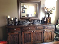 Sideboard to Match Farmhouse Table | Do It Yourself Home Projects from Ana White