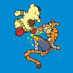 Bear vs Tiger - Xmashed Gear