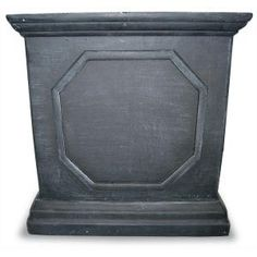 Black Square Planter $44 @ Home Depot similar to Ballard Designs Chapelle Rectanglular Planters but not $69