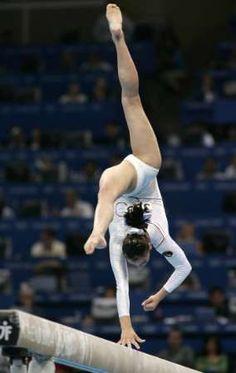 Romania's Catalina Ponor on the beam