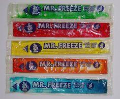 Mr freeze ice pops