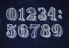 леттеринг цифры - Поиск в Google