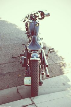 bobber custom motorcycle