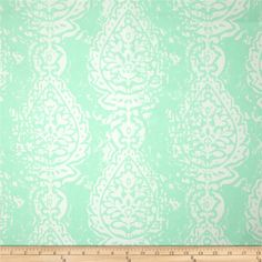Premier Prints Manchester Twill Mint from @fabricdotcom  Screen printed on cotton twill; this versatile lightweight fabric is perfect