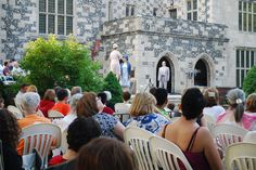 A Midsummer Night's Dream . . .Shakespeare on the Lawn at Salisbury House