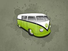 VW Camper Wallpaper Pack by ~Matzeline on deviantART