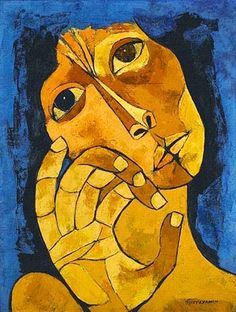 Oswaldo Guayasamín (1919-1999)  Painting is silent poetry, and poetry is painting that speaks.     Simonides