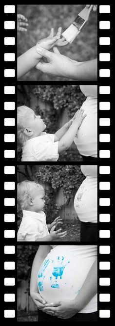 ideas baby reveal ideas for family gender announcements second child Sibling Gender Reveal, Baby Shower Gender Reveal, Baby Gender, Maternity Pictures, Pregnancy Photos, Baby Pictures, Pregnancy Tips, Second Pregnancy, Baby Kind