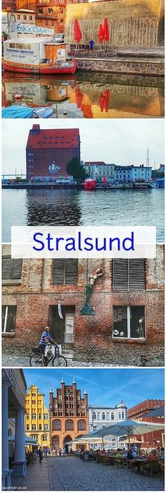 Stralsund in the North East of Germany by the Baltic Sea