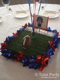 football banquet centerpiece | NJ Party Decorations - Event Centerpieces for Weddings & Bar/Bat ...