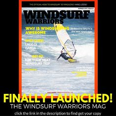 Windsurfwarriors.com finally launched the first issue of #windsurfwarriors So stoked! #windsurf #magazine #windsurfing #launch