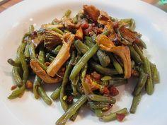 Chefkoch.de Rezept: Grüner Bohnen-Pfifferling-Salat