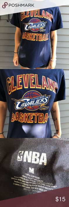 797ba9c05 CLEVELAND CAVALIERS NBA shirt Cleveland cavaliers NBA short sleeves shirt  Cavs Navy maroon and gold Great to wear to games or during the basketball  season!