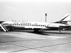 Tegel airportAir France plane 1965