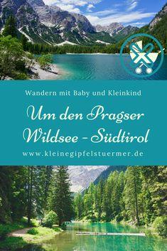 Der Rundweg um den Pragser Wildsee ist sehr gut geeignet für Familien mit kleinen Kindern. 1:45h Gehzeit, kaum Höhenmeter oder schwierige Passagen. Es kann jedoch recht voll werden, da der Pragser Wildsee ein sehr beliebtes Ausflugsziel in Südtirol ist. Alps, Mountains, Nature, Travel, Outdoor, Ballet Flats, Sport, Baby, Vacation Travel