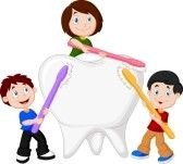 """Tips for getting a toddler to brush their teeth? •Singing a song while brushing their teeth •Letting them play with the toothbrush in order to get used to it in their mouth •Incorporate it into your morning and night time routines •Brush your teeth together •Use a favorite stuffed animal to """"model"""" brushing, or even have the stuffed animal be the one to hold the toothbr"""