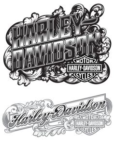 Betype - Typography & Lettering Inspiration — Recent & Semi Recent Type Treatments by Joshua M. Harley Davidson Decals, Harley Davidson Tattoos, Harley Davidson Wallpaper, Harley Davidson Posters, Harley Davidson Motor, Motorcycle Art, Bike Art, Banners, Cool Car Drawings