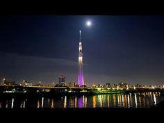 Time-Lapse 東京夜景 東京スカイツリー ライトアップ 粋 雅 Tokyo Sky Tree Light-Up
