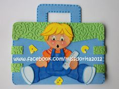 maleta con niñito