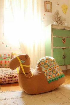 Chambre enfant chameau