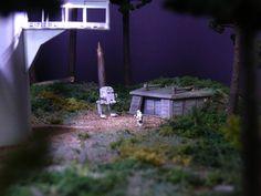 Endor Imperial Landing Port / Back Door of Shield Generator by どろぼうひげ