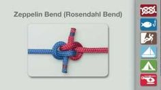 Zeppelin Bend | How to Tie the Zeppelin Bend, via YouTube.