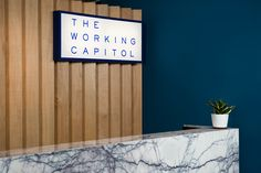 Branding and signage for Singapore co-working space The Working Capitol by Graphic Design Studio Foreign Policy The Working Capitol, Co Working, Wayfinding Signage, Signage Design, Door Signage, Office Signage, Shoreditch House, Geometric Construction, Restaurants