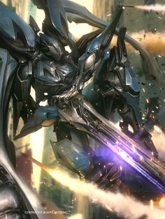 Swallow Mech by Marat-Ars Character Concept, Character Art, Character Design, Character Ideas, Armor Concept, Concept Art, Sci Fi Armor, Mecha Anime, Ex Machina