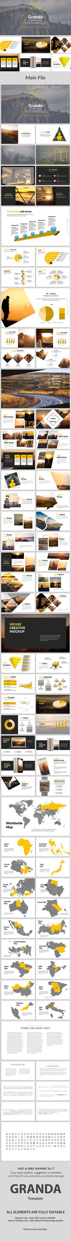 Granda Creative PowerPoint Template — Powerpoint PPT #entrepreneur • Download ➝ https://graphicriver.net/item/granda-creative-powerpoint-template/19472335?ref=pxcr