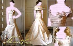 Sleeve Wedding Dresses Mermaid Bridal Gown , Ivory SimPle , or prom dress , idea , Jacket Bridal Wraps