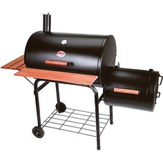 Char-Griller Smokin' Pro Grill & Smoker    simply the best charcoal grill out there!!!   love them so much i bought my dad one......