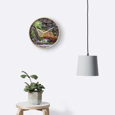 banc en fer ou les anciens aiment discuter l'été ou faire la sieste • Also buy this artwork on home decor, apparel, stickers et more.