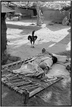 India 1966 by Henri Cartier Bresson