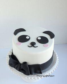 pandakakku Panda, Cake, Birthday, Desserts, Ideas, Food, Tailgate Desserts, Birthdays, Deserts