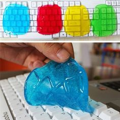 Super Sale 2016 Brand Universal Cleaning Glue Cleaner Dust Slimy Gel For Keyboard Wipe Compound Laptop sponge products