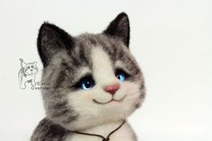 Котёнок Табби.: utichka
