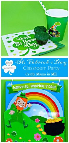 Simple & Inexpensive St. Patrick's Day Classroom Party
