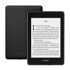 Our thinnest, lightest Kindle Paperwhite yet, with a sleek, modern design so you can read comfortably for hours. The Kindle Paperwhite is a waterproof e-book reader with a glare-free display and built-in adjustable light. Amazon Kindle, Kindle Ebooks, E Book Reader, Wi Fi, Cadeau Parents, Usb, Kindle Oasis, Fire Tablet, Book Lists