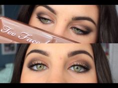 Too Faced Semi Sweet Tutorial #2 - YouTube
