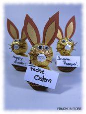 Osterhasen aus Ferrero Rocher