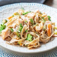 Pasta Salad, Ethnic Recipes, Blog, Linguine, Sauces, Top Recipes, Easy Trifle Recipe, Domingo, Crab Pasta Salad