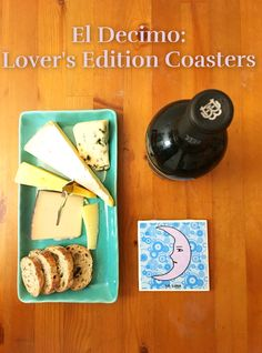 Lover's Edition coasters available at: www.eldecimo.co  #newlatino #latinostyle #latinodecor #loteriacoasters #loteriaaccessories #eldecimoco