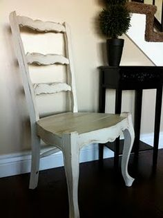 Antique Chair from doneoverdecor.blogspot.com