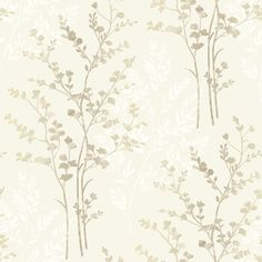 Arthouse Fern Motif Wallpaper - Brown, Beige and Cream - http://godecorating.co.uk/arthouse-fern-motif-wallpaper-brown-beige-and-cream/