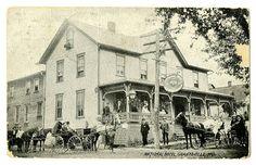 The National Hotel.  Grantsville MD 1909