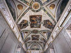 CORTONA, Pietro da Gallery vault 1622-23 Fresco Palazzo Mattei di Giove, Rome
