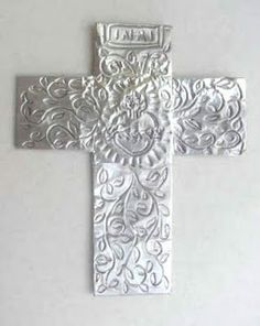 Foil Cross | for Religion Class.  Give students a chance to be creative.