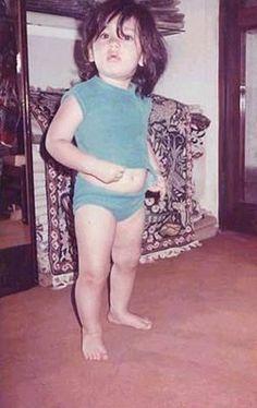 #Childhood #Pictures of #Bollywood #Heroines #KareenaKapoor